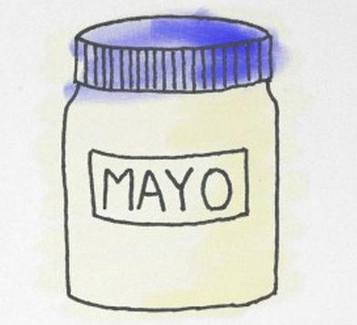 Mayonnaise clipart.