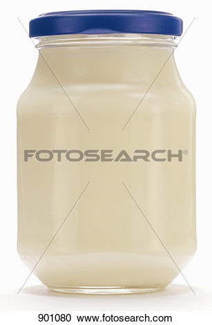 Stock Photography of A Jar of Mayonnaise 901080.