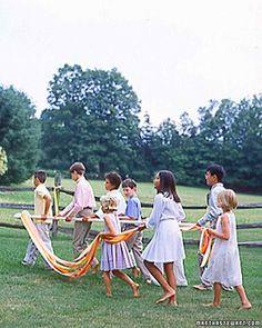DIY: Making a Maypole for a Maypole Dance Read more: http://www.