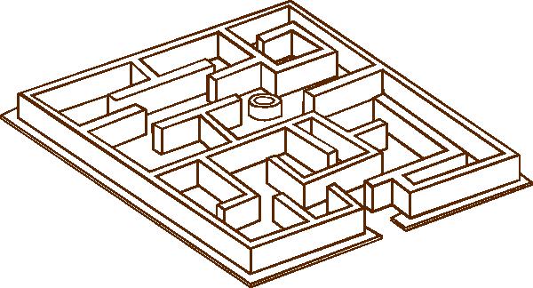 Maze clip art Free Vector / 4Vector.