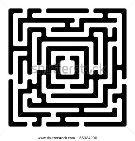 Maze Clipart Page 1.