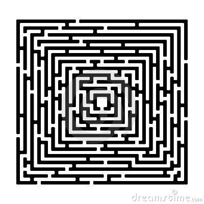 Maze graphics clipart.
