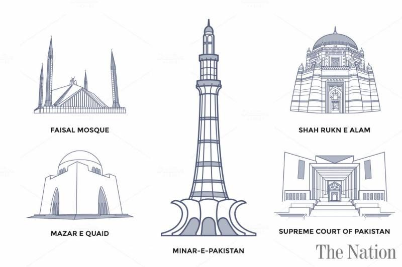 Image result for history of minar e pakistan.