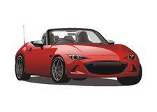 Mazda Stock Illustrations.