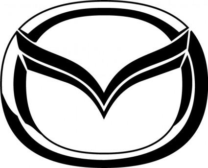 Mazda logo clipart.