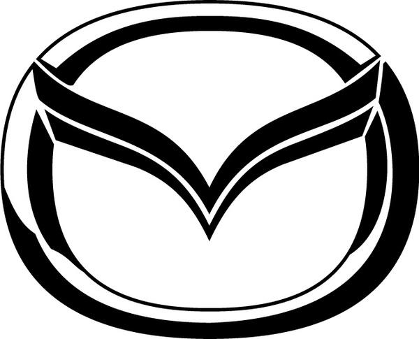 Mazda logo2 Free vector in Adobe Illustrator ai ( .ai.
