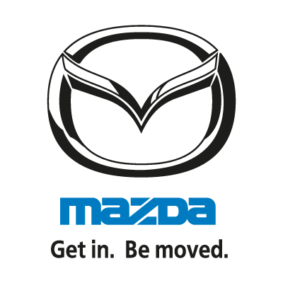 Mazda (Get in. Be moved.) logo vector (.EPS, 406.18 Kb) download.