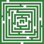 Green Maze Clip Art.