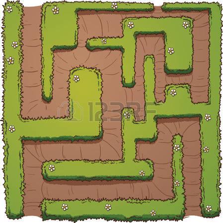 3,645 Cartoon Maze Stock Vector Illustration And Royalty Free.