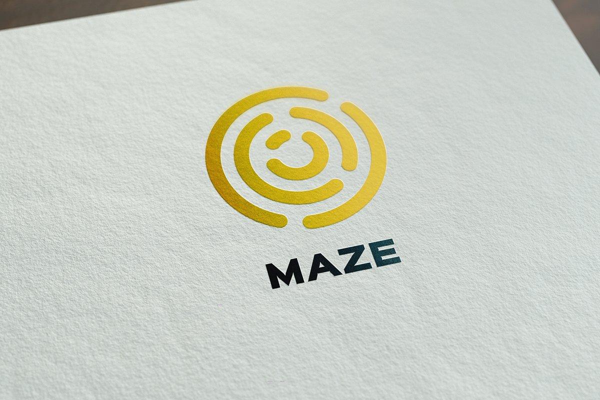 Maze Logo Template ~ Logo Templates ~ Creative Market.