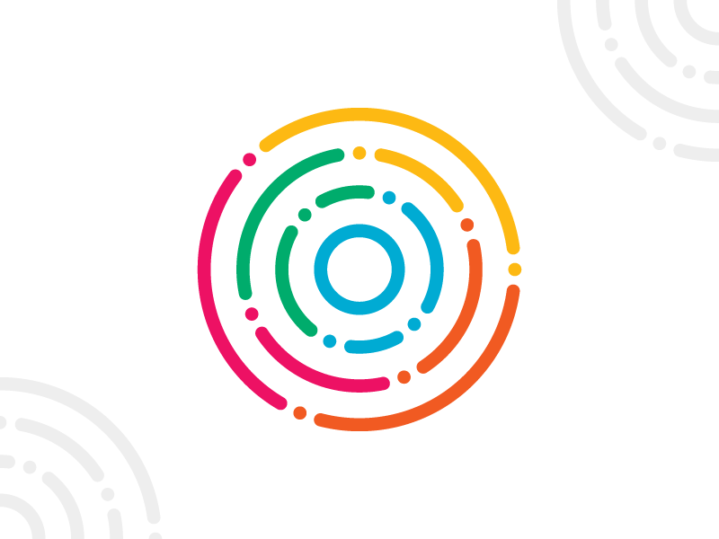 Circle + Maze Logo by Kathryn Sutton on Dribbble.