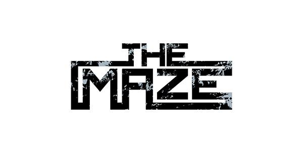 THE MAZE logo design on Behance.