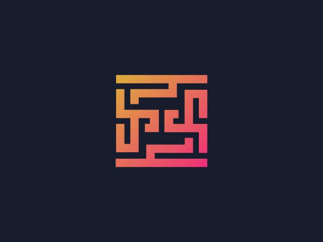 Maze Logo Design.