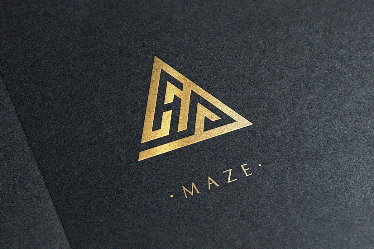 Maze Logo.