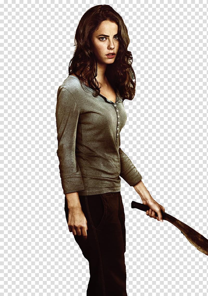 The Maze Runner, woman holding dagger transparent background.