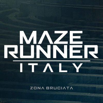 Maze Runner Italy (@ZonaBruciata).