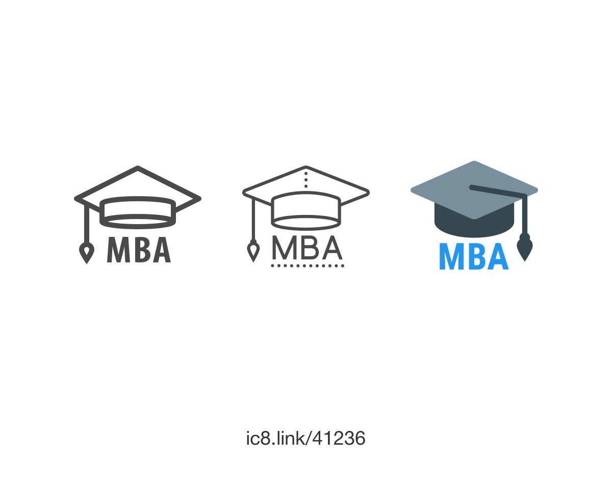 MBA Icon.