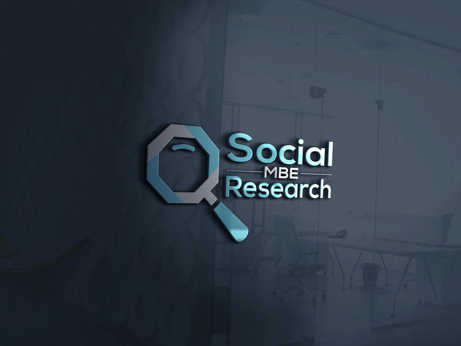 Social MBE Research Logo by Rakibul hasan on Dribbble.