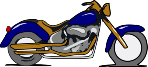 Harley Mc Gold And Blue Clip art.
