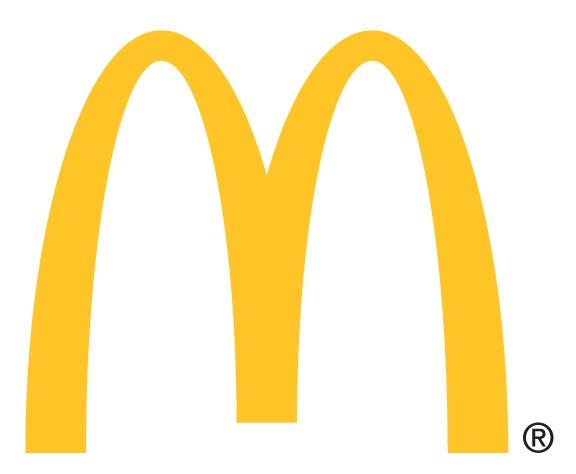 Mcdonalds clipart logo.