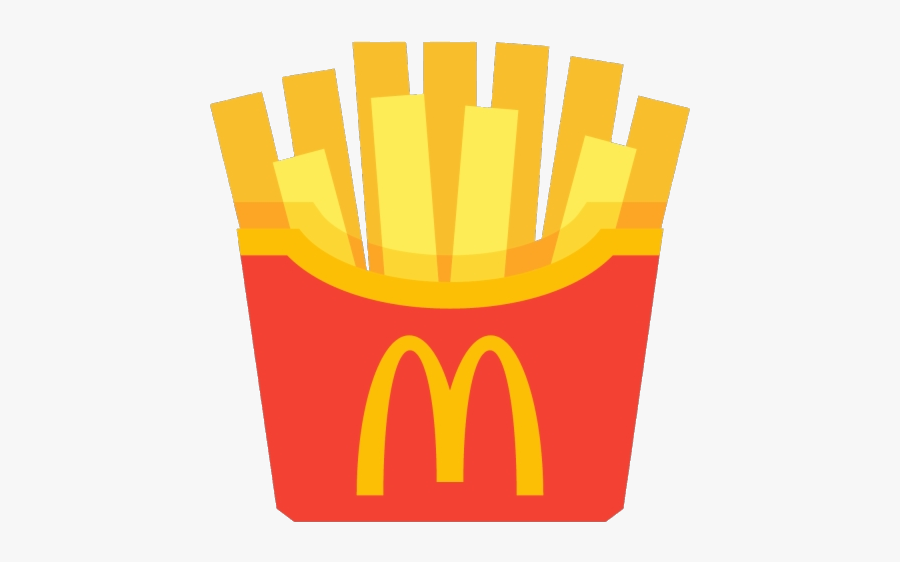 Mcdonalds Clipart Fries French Vector Transparent Png.