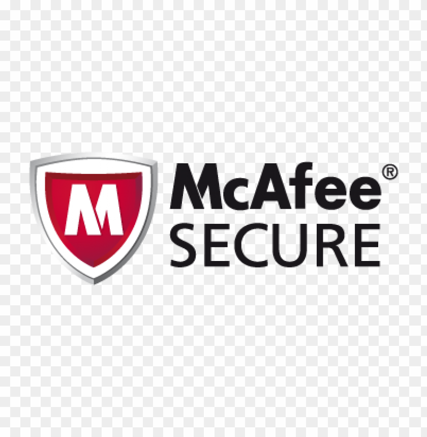 mcafee (.eps) vector logo download free.