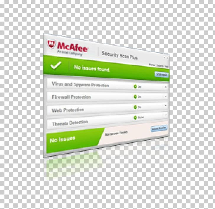 McAfee VirusScan Antivirus Software Computer Security.