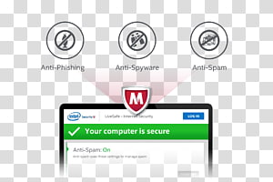 McAfee VirusScan PNG clipart images free download.