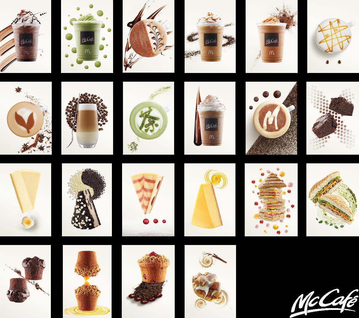 McCafé Singapore Food Art on Behance.