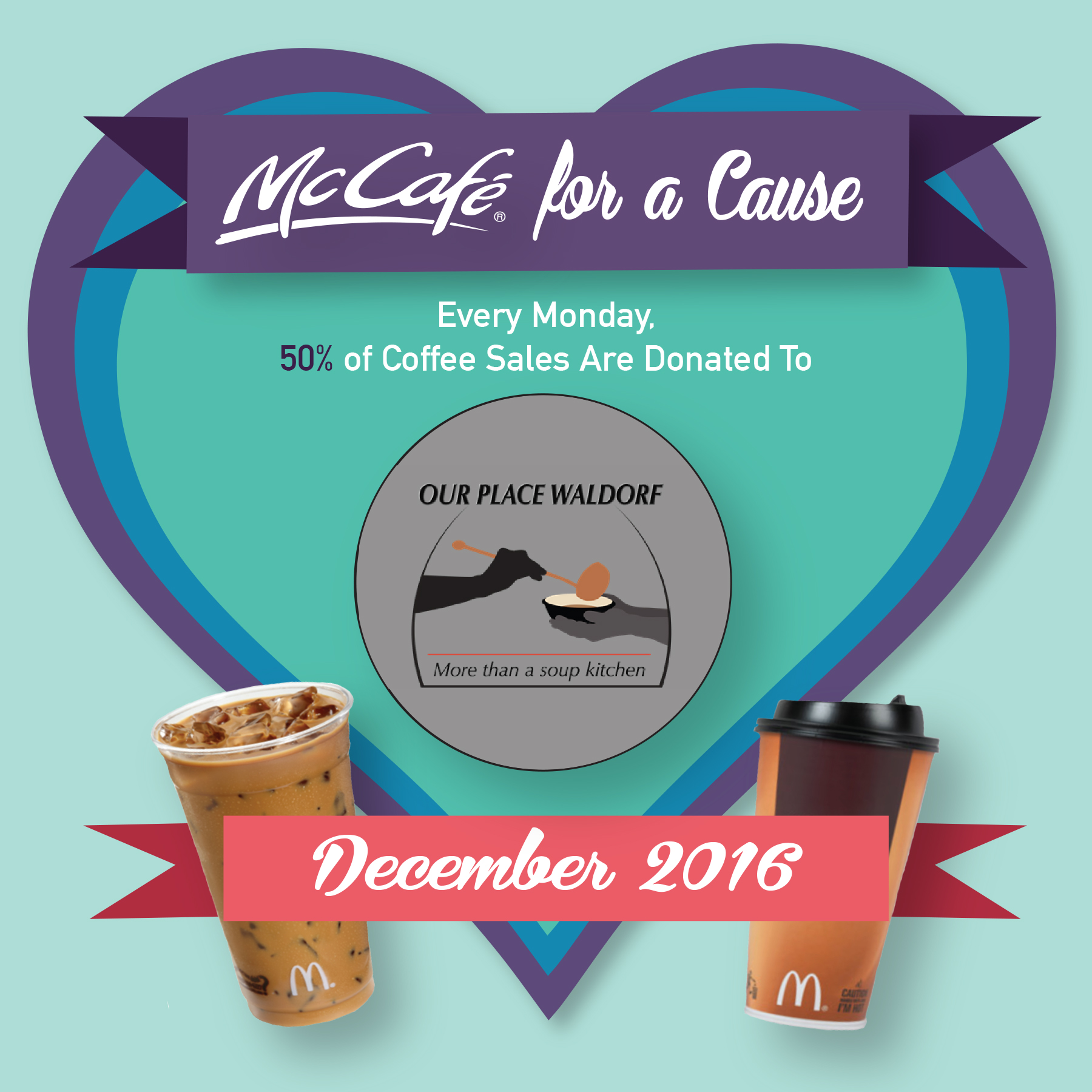 McCafe for a Cause.