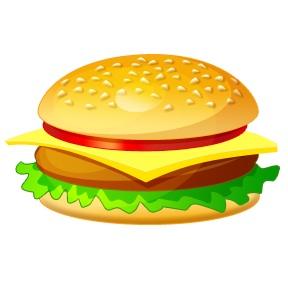Mcdonalds Burger Clipart.