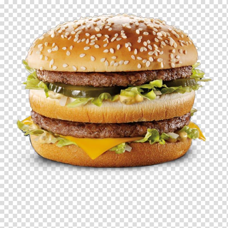 Hamburger sandwich, McDonald\'s Big Mac Hamburger.