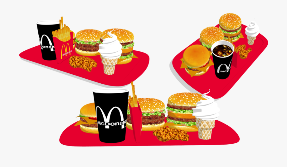 Junk Food Clipart Mcdonald's Menu.
