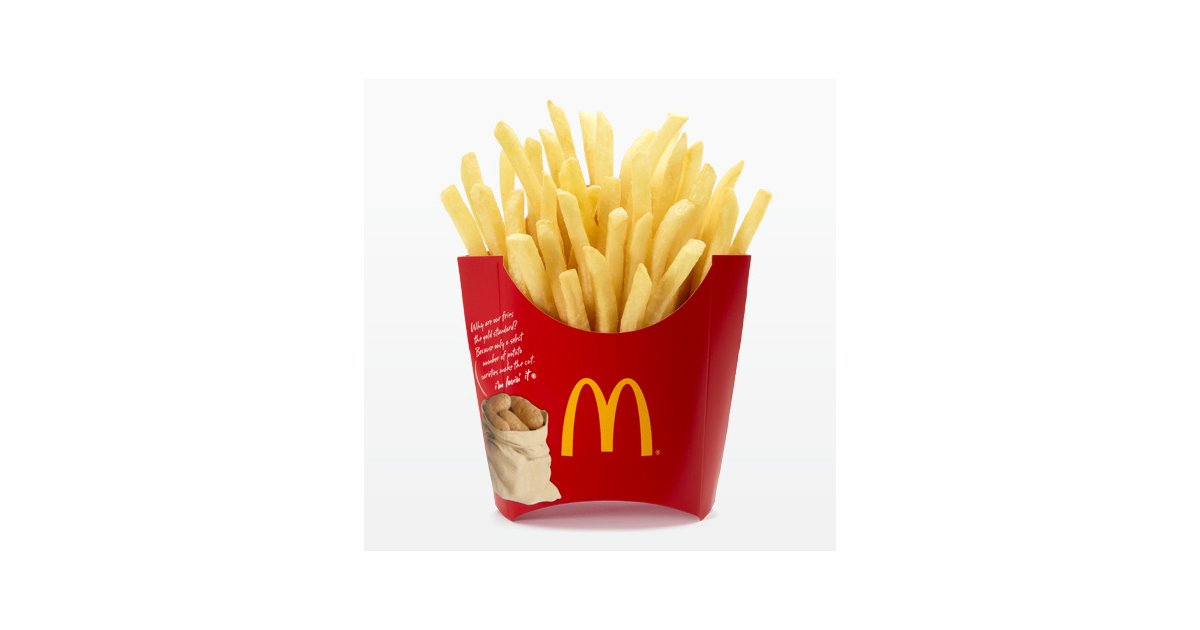 958 French Fries free clipart.