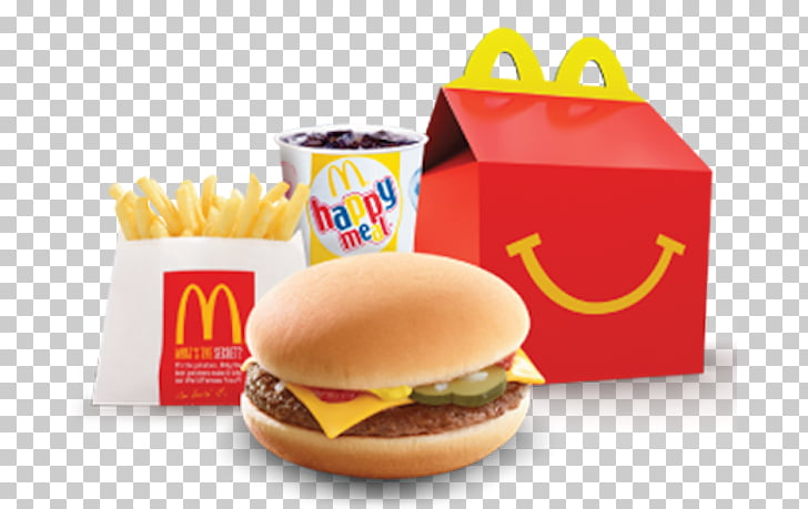 McDonald\'s Cheeseburger Hamburger French fries Happy Meal.