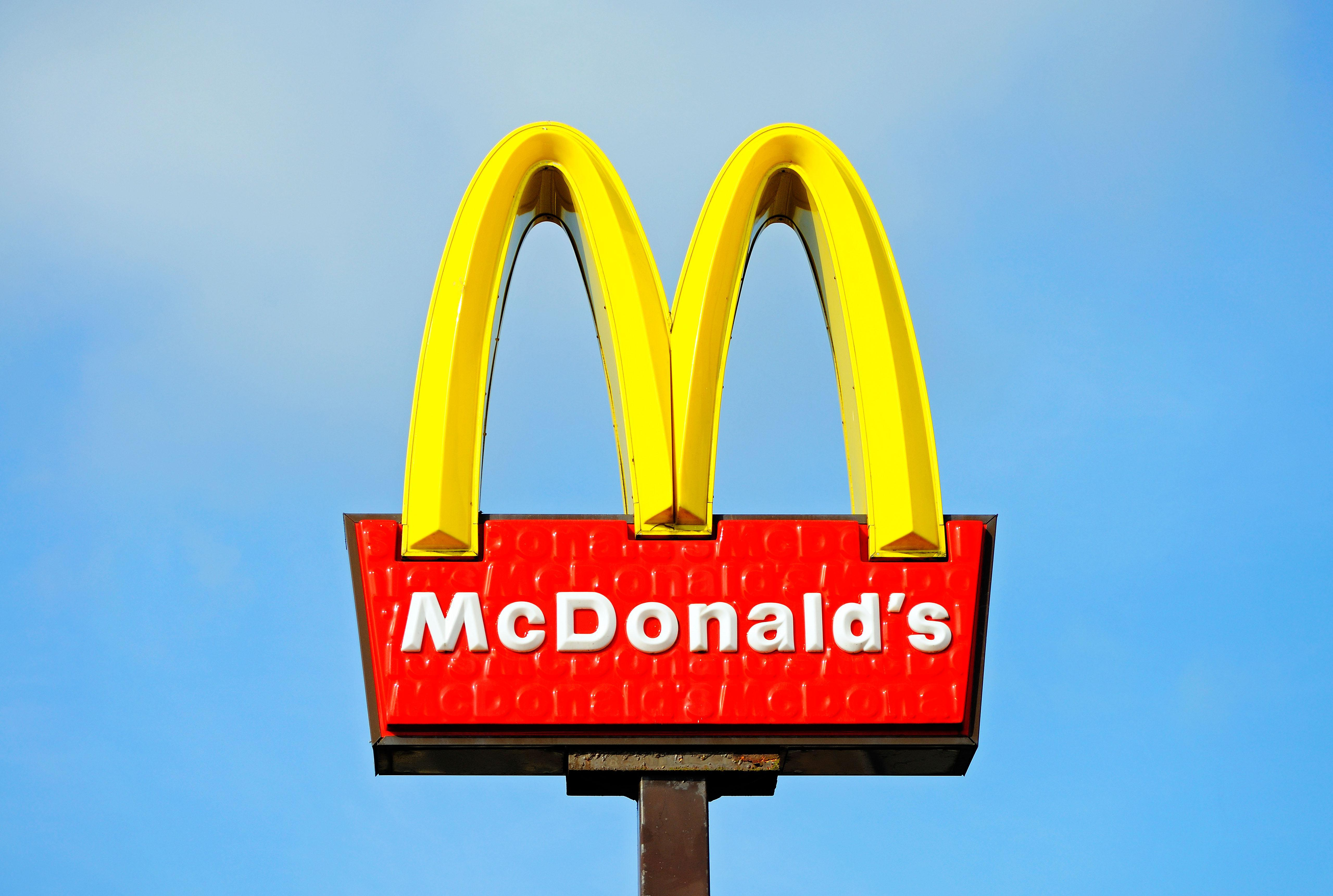 There\'s something strange about the McDonald\'s logo which.