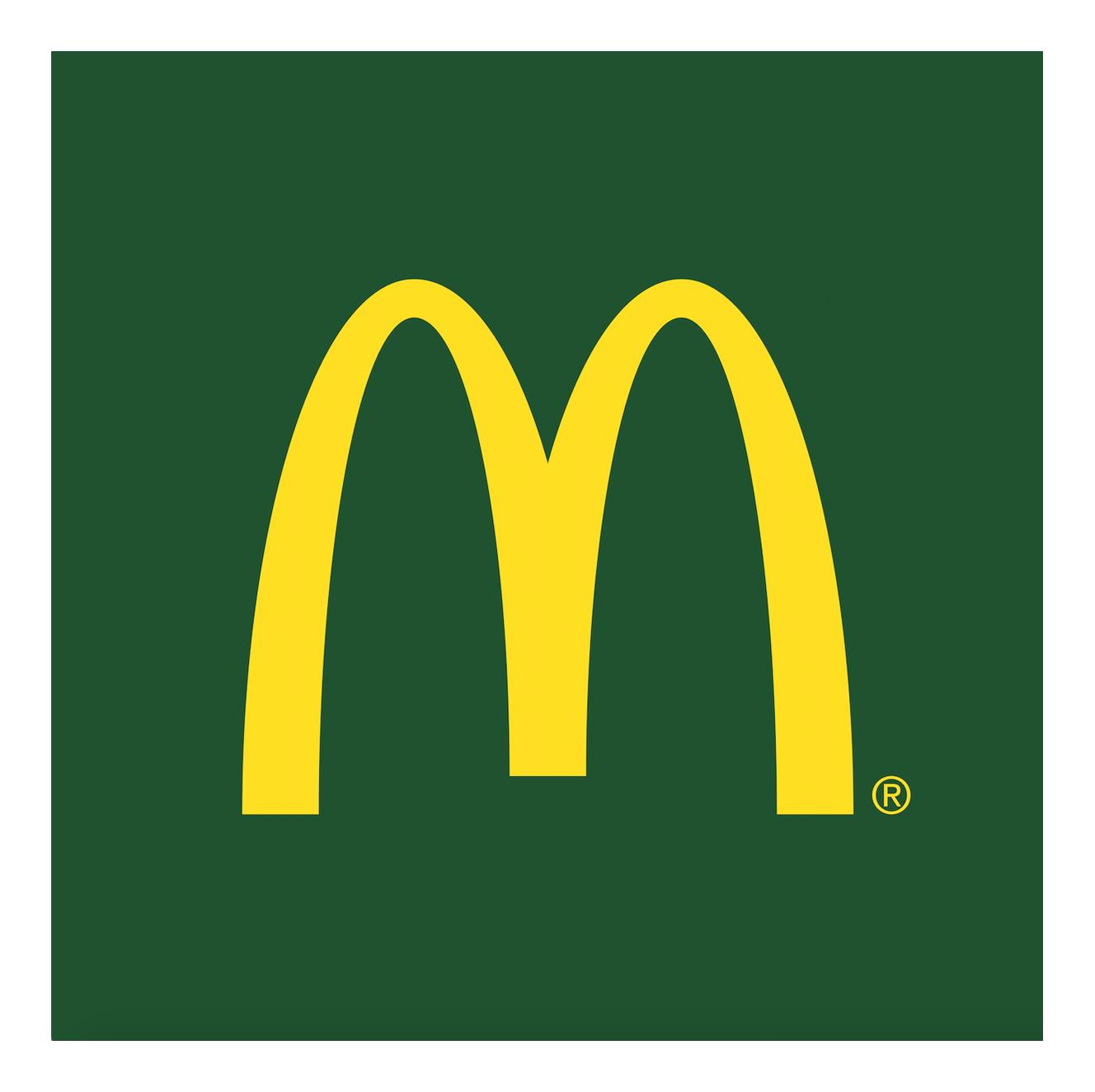 Logo McDonald\'s.