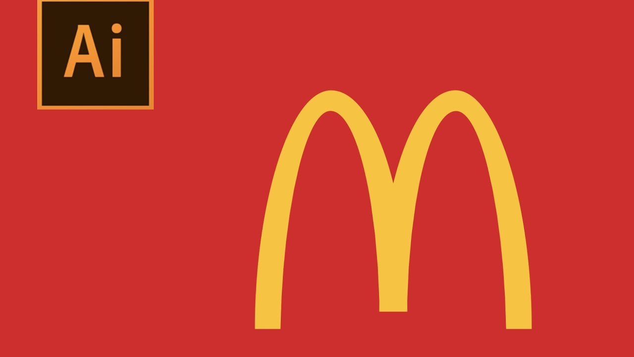 How to Design McDonald\'s Logo.
