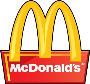 McDonalds 3D logo Free vector in Adobe Illustrator ai ( .ai.