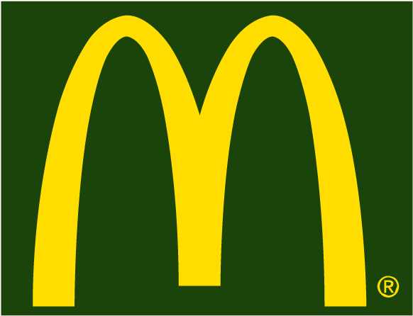 Mcdonalds Icon Vector Logo.
