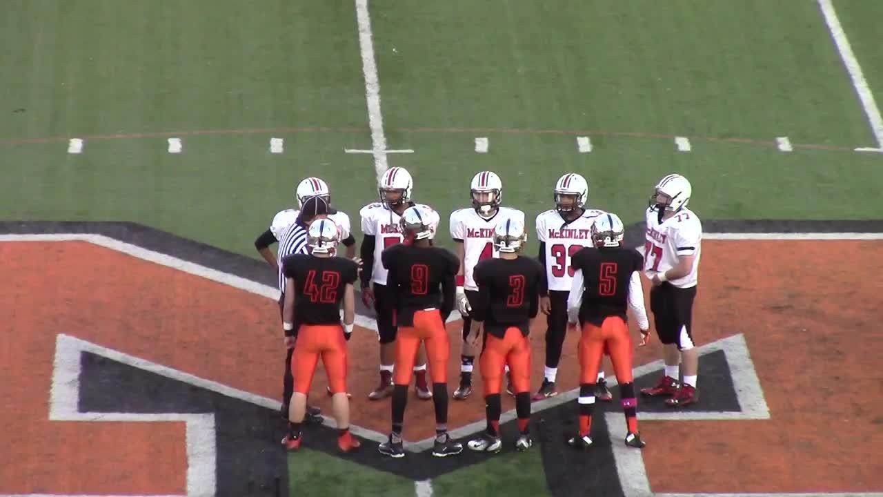 Canton McKinley Freshmen Bulldogs.