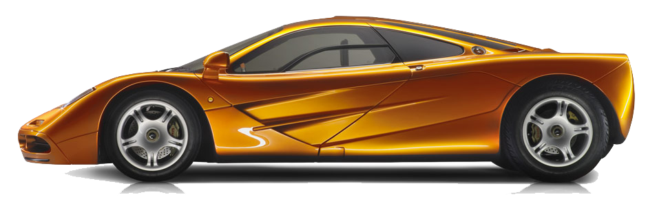 McLaren F1 PNG Transparent Images.