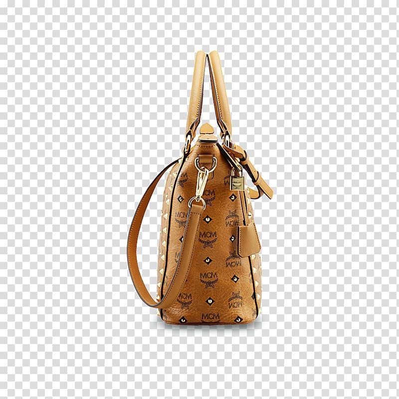 Handbag MCM Worldwide Shopping Leather, women bag.