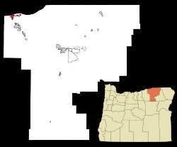 Umatilla, Oregon.