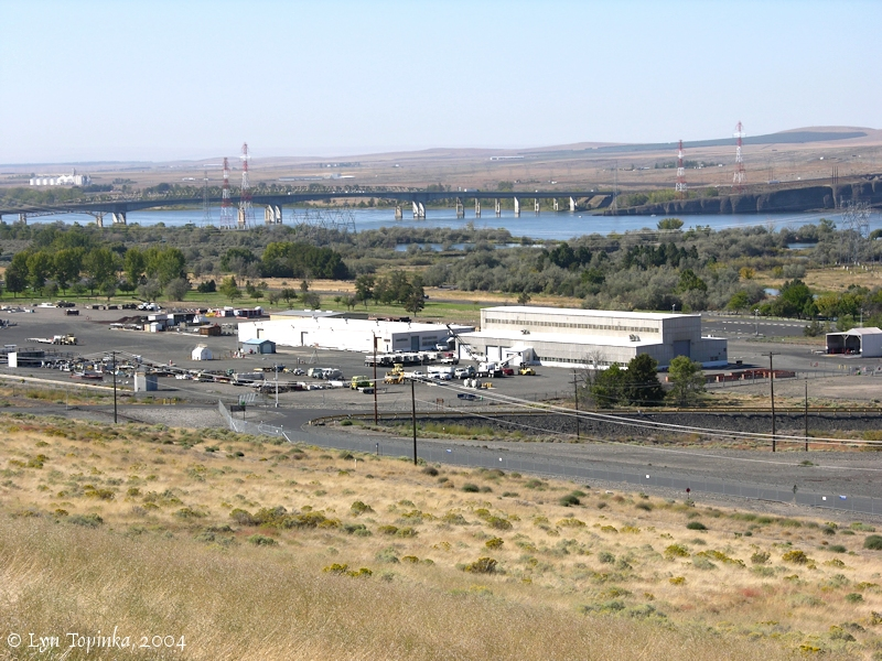 The Columbia River.