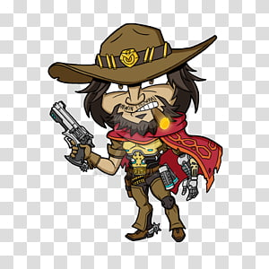 Mccree PNG clipart images free download.