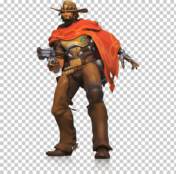 McCree Standing, Mobile Legends Clint PNG clipart.