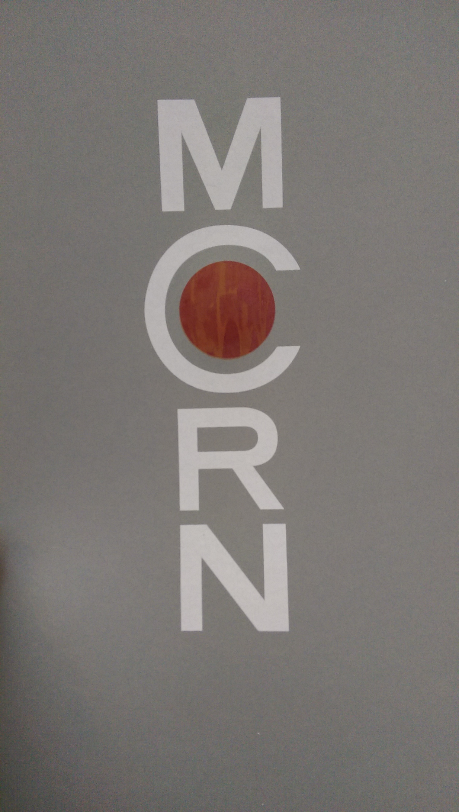 Made a screen printed poster of the MCRN logo.