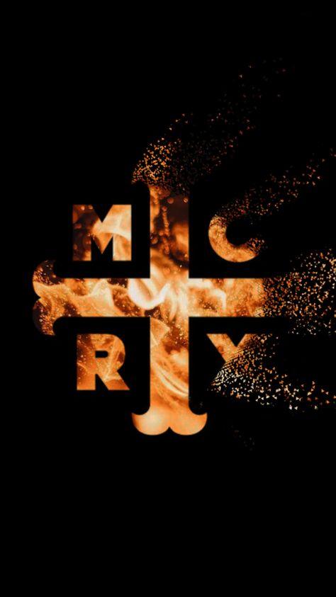 "my chemical romance (mcrx) logo ""i don\'t feel so good."