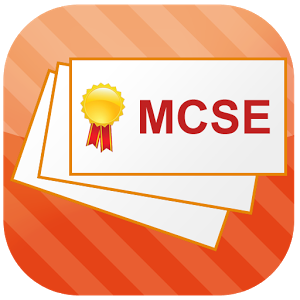 MCSE Flashcards.